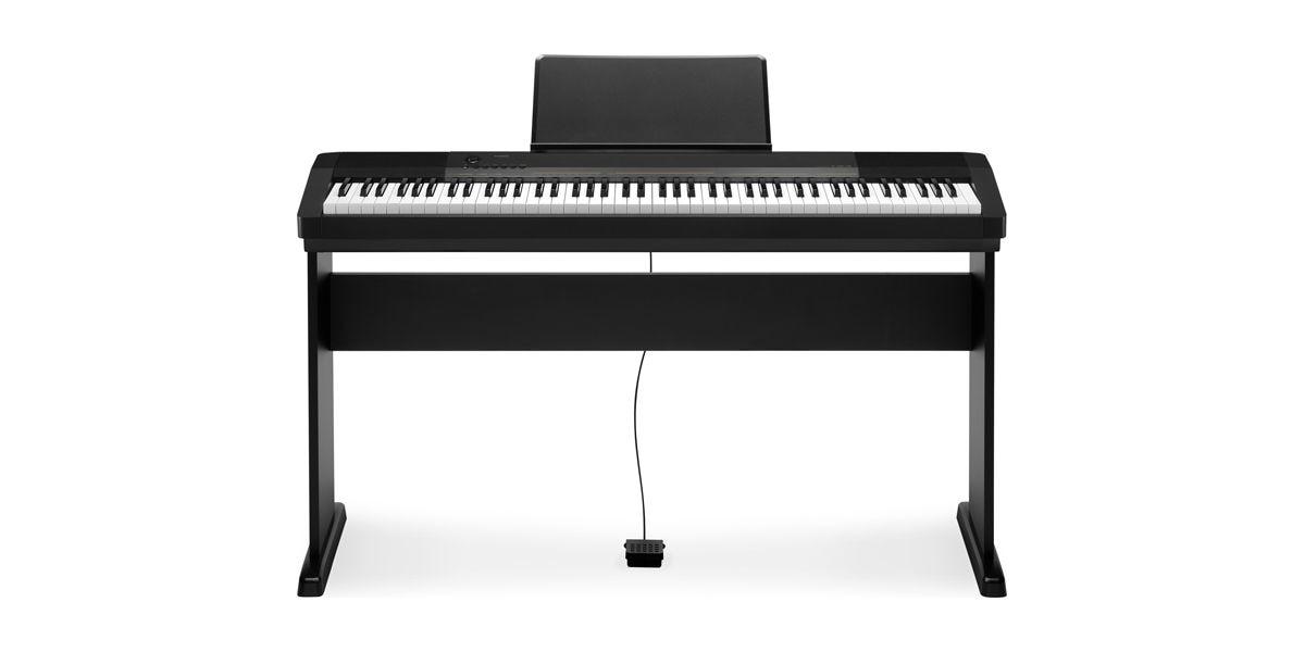 piano digital casio cdp 130bk c estante toke musical instrumentos musicais nacionais e. Black Bedroom Furniture Sets. Home Design Ideas